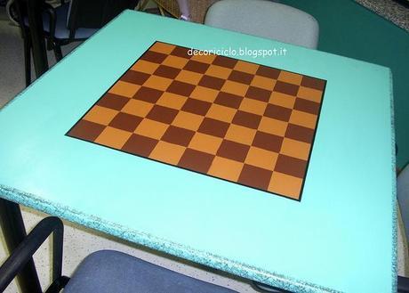 Nella foto sopra è ritratta la scacchiera per giocare a dama o a ...