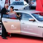 Maserati On The Red Carpet Of The 70th Venice International Film Festival - August 28, 2013