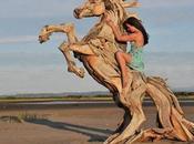 incredibile sculture legno Jeffro Uitto.
