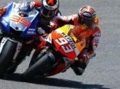 Sempre Marquez davanti tutti, Rossi