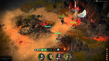Aarklash: Legacy - Trailer di gameplay della GamesCom 2013