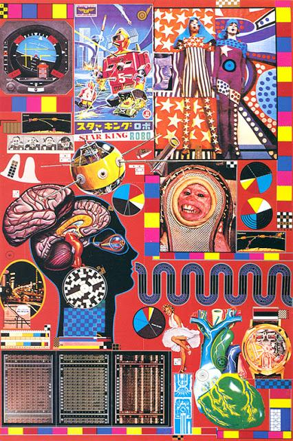 Fashion, Art and Design: Paolozzi Collages.