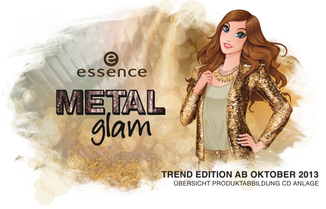 Essence, Metal Glam Collection - Preview