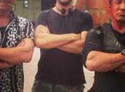 Foto Mercenari regista Patrick Hughes Sylvester Stallone Arnold Schwarzenegger
