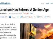 Un'età dell'oro giornalismo? però…