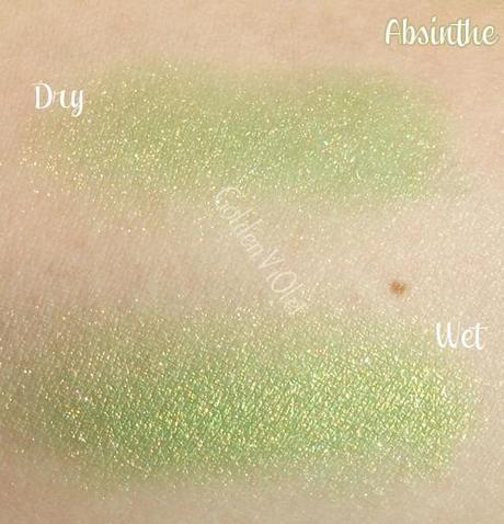 Sugarpill ~ Loose eyeshadow in Absinthe & Stella