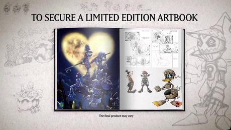 Kingdom Hearts HD 1.5 ReMIX - Trailer dell'artbook per la limited edition