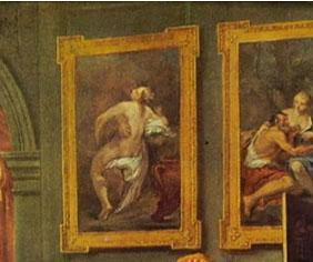 Matrimonio alla moda, e l'influenza della pittura italiana su quella anglosassone