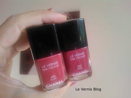 Chanel Elixir 589 VS April 533
