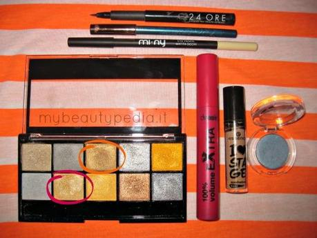 Back to school *oro&azzuro; [Makeup Look#1]
