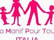 Nasce Manif Pour Tous Italia: difesa della libertĂ