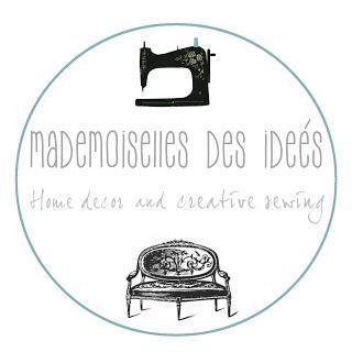 :: Mademoiselles des ideès ::  Embroidery Kitchen Towel