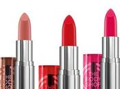 nuovi Color Crush Lipsticks della Body Shop