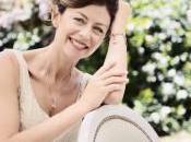 Rosato gioiello argento dedicato alla lotta contro cancro seno