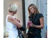 Cristina Parodi, shopping Montenapoleone: look total black (foto)