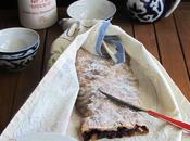 strudel all'uva fragola bacche goji