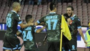 Tris del Napoli, pari per Inter, Juve e Milan