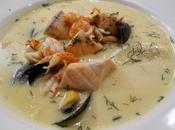 Fiskesuppe, zuppa pesce norvegese