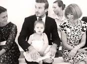 Harper Beckham alla York Fashion Week Anna Wintour