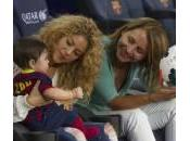 Shakira allo stadio Milan: papa Gerard campo (foto)