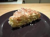 Torta soffice pere cocco