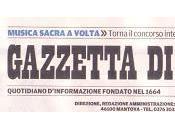 Gazzetta Mantova dedicato articolo all'uscita colori della nebbia