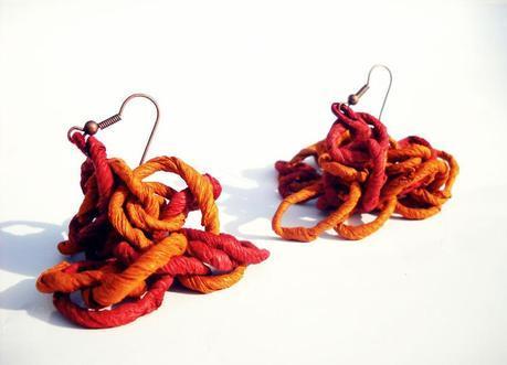 Quasi Caramelle - rusty chain - orecchini