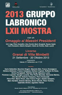 GRUPPO LABRONICO  LXII MOSTRA