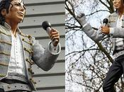 statua Michael Jackson Londra sarà spostata