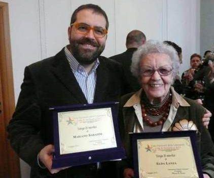Elda Lanza e Mariano Sabatini foto tratta da: http://elatvbellezza.wordpress.com/