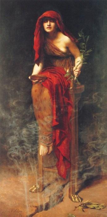 John_Collier_-Priestess_ of Delphi