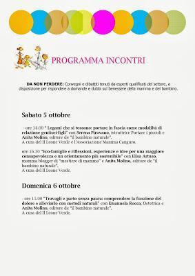 Mamma Canguro ospite a Bimbinfiera Milano 5 ottobre