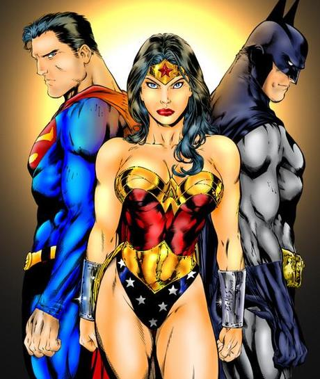 wonder woman batman superman