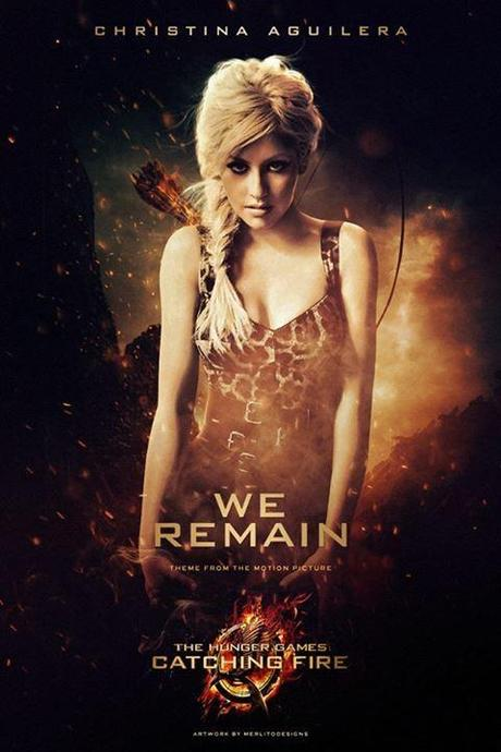 christina aguilera we remain for hunger games catching fire soundtrack We Remain di Christina Aguilera in The Hunger Games: La Ragazza di Fuoco