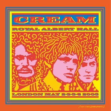 Royal Albert Hall London May 2-3-5-6 2005 Cream!
