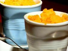 Sorbetto alla carota latte mandorla