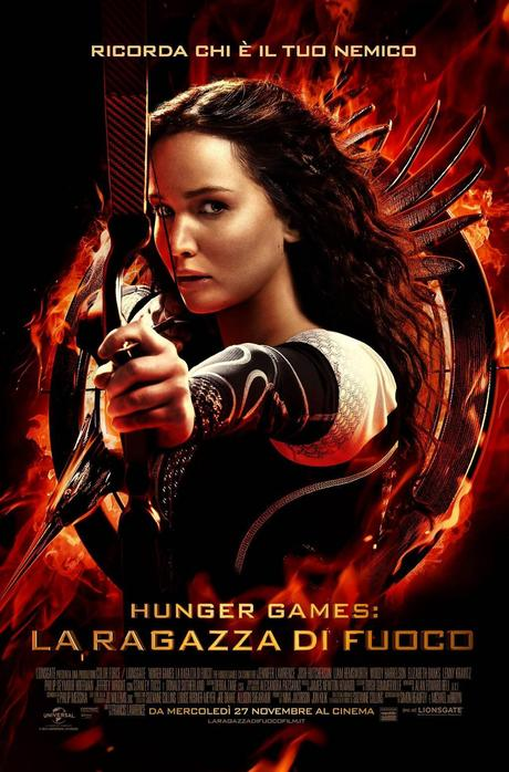 hunger games 2 poster italiano