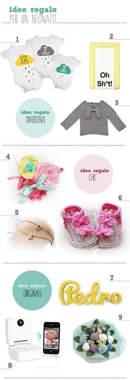 idee regalo originali per neonati