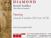 """[link] Diamond """"Stencil Araldica"""" Rosso20sette 4.10.2013"""