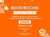 NEWS. Aperitivo OSRAM_2 Ottobre_18.30_Maison Moschino_V.le Monte Grappa 12/b_Milano