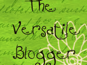 Versatile Blogger Award Nominations