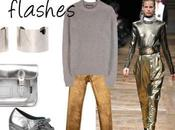 Trend 2013 Metallic flashes.