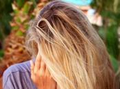 Maschera capelli biondi