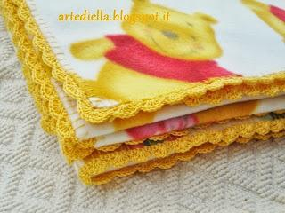 rifinire all'uncinetto il bordo di una coperta DIY  video tutorial