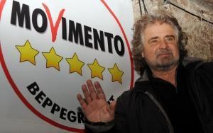 Beppe Grillo dichiara: Neppure un pazzo affiderebbe alla 'coppietta del crack', Capitan Findus Letta e Pesce Palla Alfano