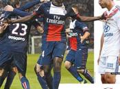 Report Ligue Monaco scappano insieme, Lione mille pezzi…