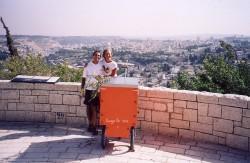 Arrivo a Gerusalemme 20.6.2004