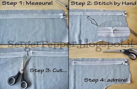 How-To: Shortening a zipper in 3 easy steps