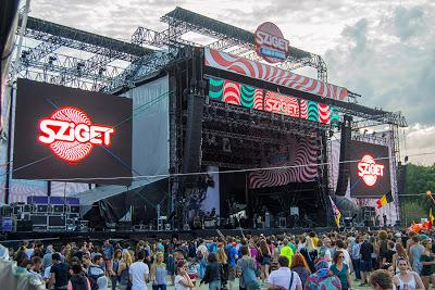 International summer festival n° 3: Sziget