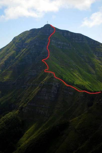 Corno Alle Scale Balzi Dell'ora il Sentiero Dei Balzi Dell'ora